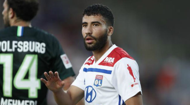 Yessin Fekir con el Lyon