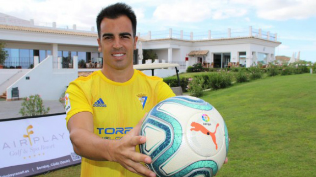 Jurado ya compite con el Cádiz CF.