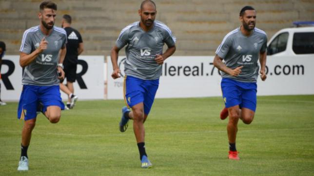 José Mari, Fali y Sergio Sánchez.