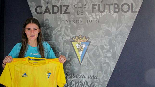 María Alexandra refuerza al Cádiz CF Femenino. Foto: Cádiz CF.
