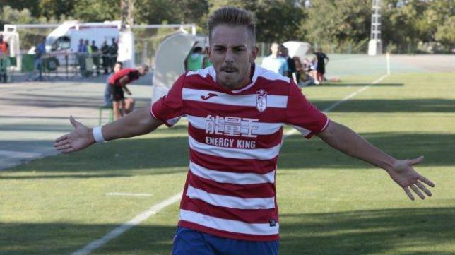 Víctor Morillo recala en el Cádiz CF B. Foto: Ideal.