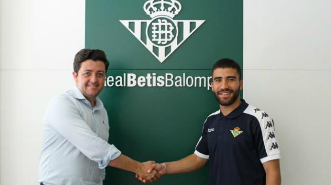 Yassin Fekir jugará, a priori, en el Betis Deportivo. Foto: Real Betis.