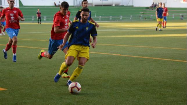 El Cádiz CF B venció en Trebujena por 0-3.
