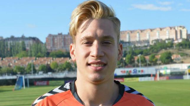 Carlos Cobo, nuevo lateral izquierdo del Cádiz CF B.