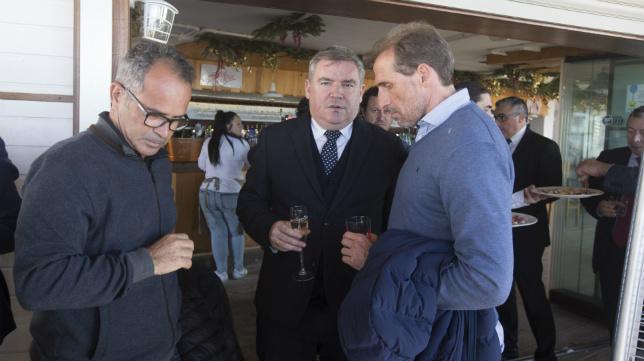 Álvaro Cervera, Manuel Vizcaíno y Óscar Arias.
