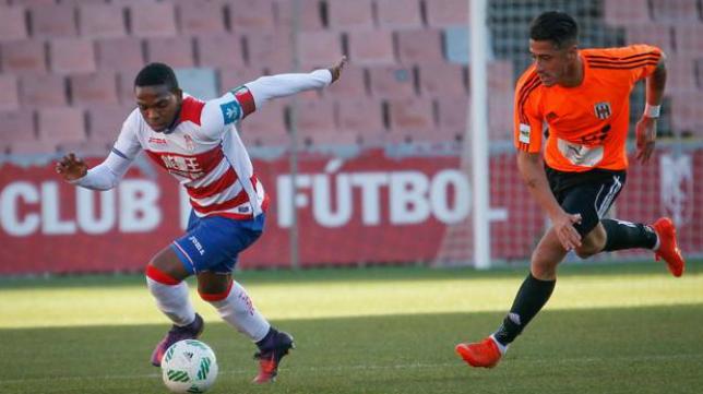 Corozo jugó en el filial del Granada. Foto: Ideal Granada.