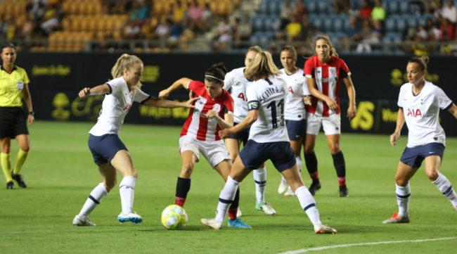 Totthenam y Athletic disputaron una final muy competida