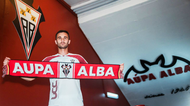 Kecojevic, actual jugador del Albacete. Foto: Albacete Balompié.