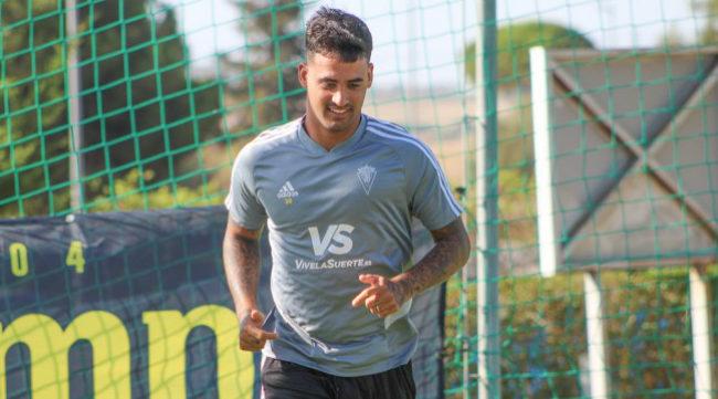 Nano Mesa, delantero del Cádiz CF.