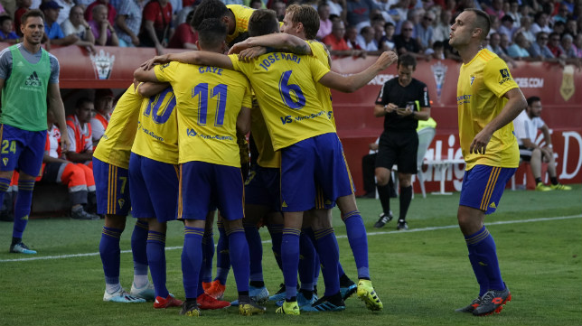 El Cádiz CF ha conseguido su segunda victoria en Liga.