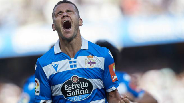 Ager Aketxe, centrocampista del Deportivo.