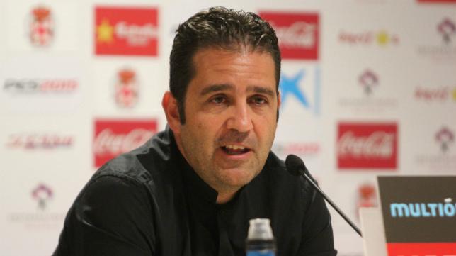 Alberto Benito sabe lo que es ascender a Primera tanto con el Cádiz CF como con el Almería.