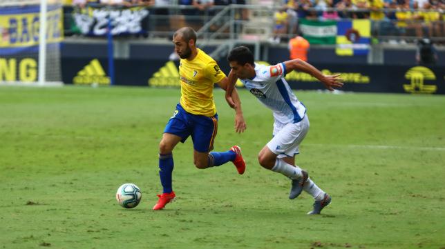 Perea se quedó sin marcar ante el Deportivo.