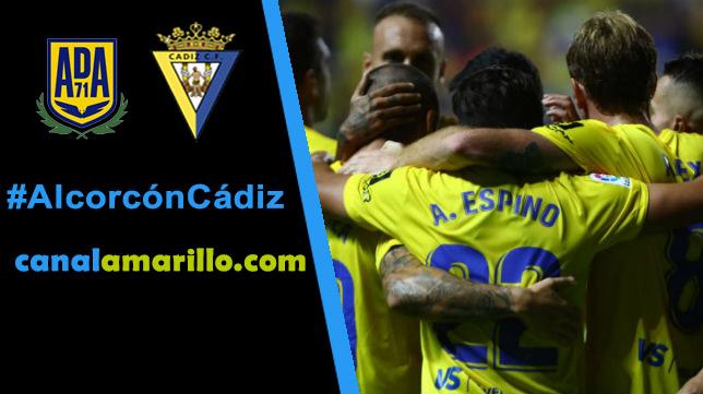 El Cádiz quiere seguir ganando en Alcorcón