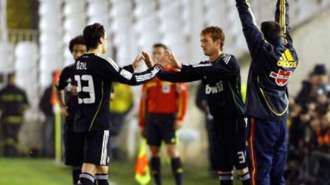 Álex debutó en Primera en El Sardinero con el Real Madrid. Foto: Real Madrid.