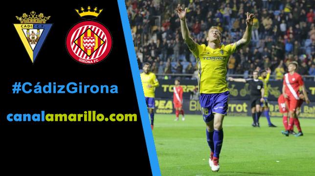 El Cádiz busca otros tres puntos ante el Girona