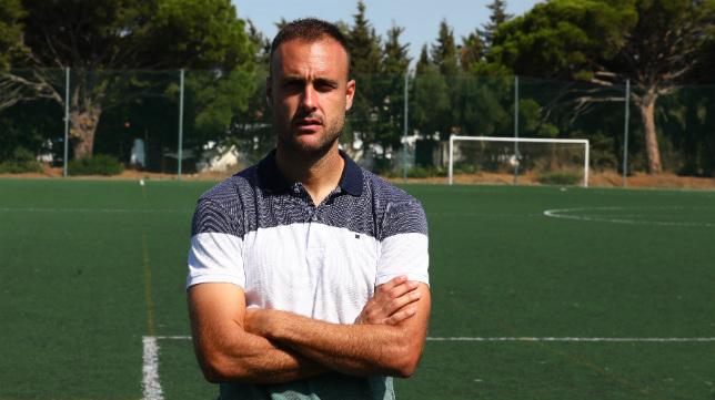 Cala ha llegado con la idea de jugar en Primera con el Cádiz CF.