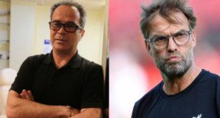 Álvaro Cervera y Jurgen Klopp, entrenadores de Cádiz y Liverpool