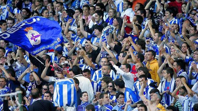 La afición del Deportivo estará en Carranza.