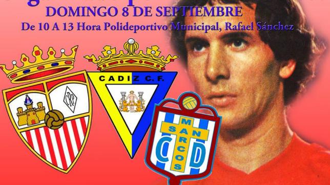 Cartel del homenaje a Enrique Montero.
