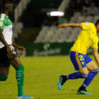 Espino completó un notable partido en Santander.