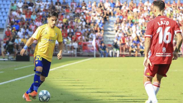 Iza es indiscutible en las filas del Cádiz CF.