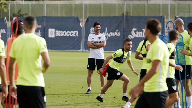 Víctor tendrá problemas ante el Cádiz CF.