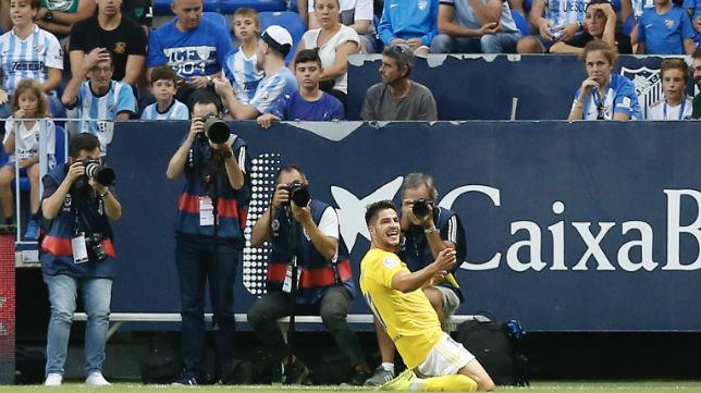Caye Quintana ha jugado la primera vuelta de la competición con el Cádiz CF.