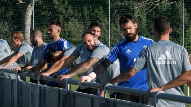 Edu Ramos podrá estar en la convocatoria para Zaragoza.