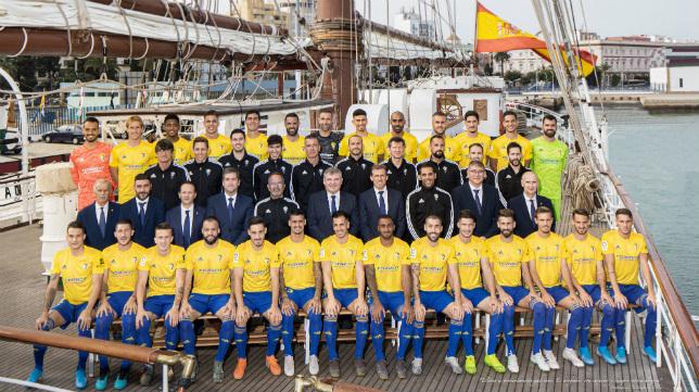 Foto oficial del Cádiz CF en la temporada 2019/2020. Foto: Cádiz CF.