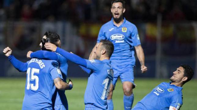 El 'Fuenla' se impuso al Zaragoza en el partido aplazado.