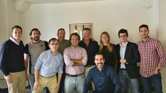 Los asistentes a la reunión sectorial de la Fundación Cajasol.