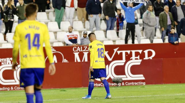 Jurado debutó con derrota en Albacete.