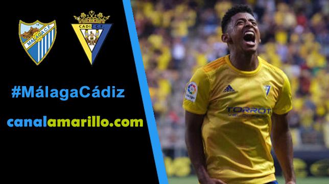 El Cádiz no quiere dejarse sorprender por el Málaga
