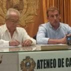 Oscar Arias en el Ateneo gaditano