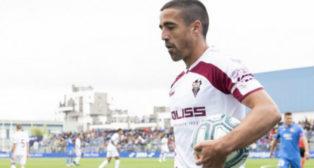 Pedro Sánchez, jugador del Albacete.