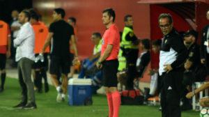 El Cádiz CF empataba sin goles en casa del filial sevillista en la novena jornada.