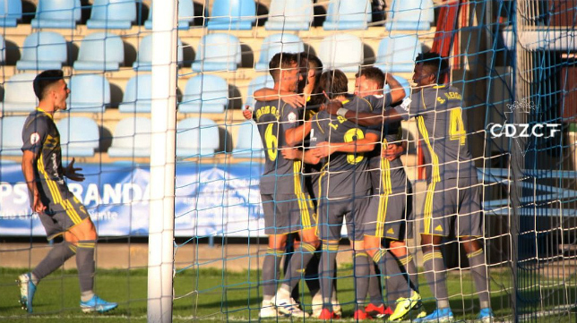 El Cádiz CF B ganó 0-2 en Talavera de la Reina. Foto: Cádiz CF.