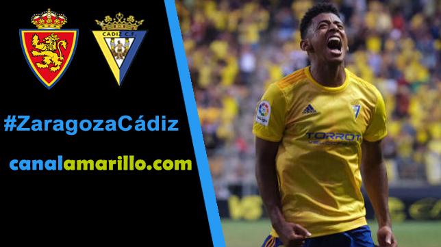El Cádiz quiere seguir su racha en Zaragoza