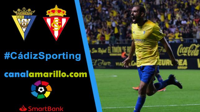 El Cádiz busca tres puntos en casa ante el Sporting