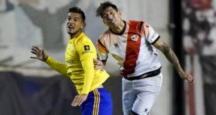 El Cádiz CF empató en Vallecas.