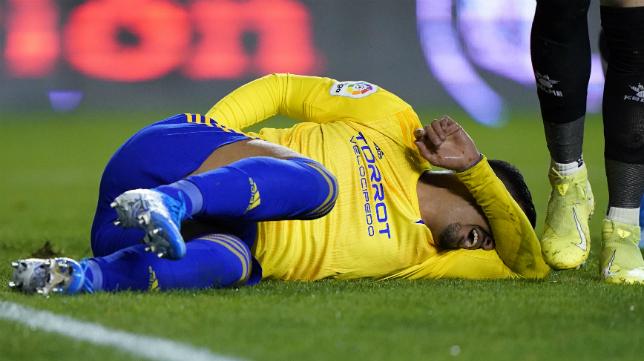 Nano Mesa sufrió un penalti que no fue señalado.