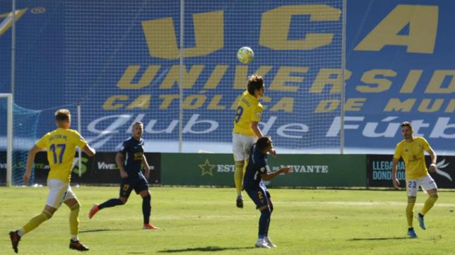 El Cádiz B empató en La Condomina. Foto: Cádiz CF.