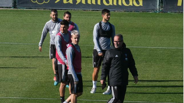 Marcos Mauro y Rhyner volvieron lesionados de Asturias.