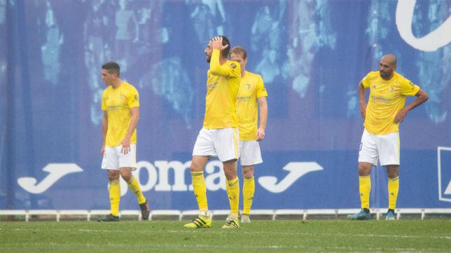 El Cádiz CF no pudo puntuar en Fuenlabrada.