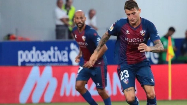 El Huesca sube a Primera.