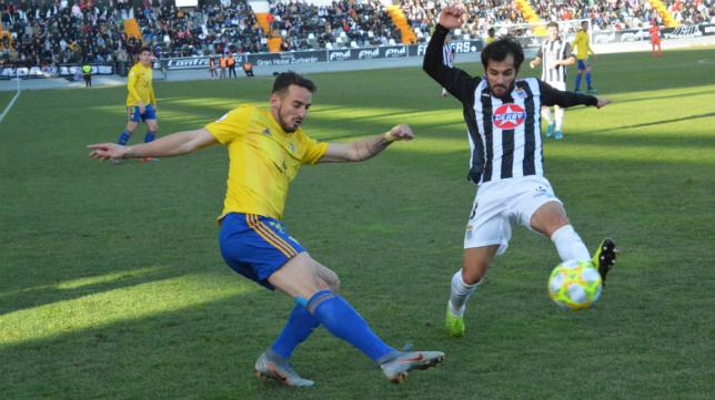 El Cádiz B empató en el Nuevo Vivero ante el Badajoz (0-0). Foto: Cádiz CF.
