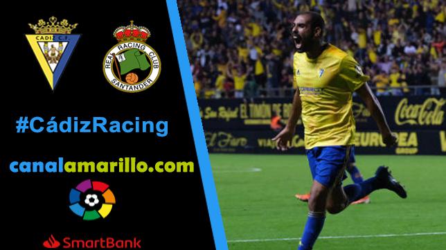 El Cádiz busca reencontrarse con la victoria ante el Racing