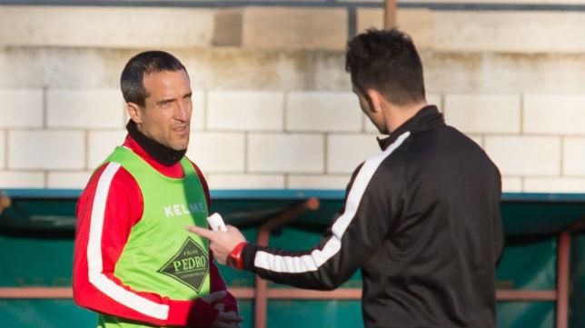 César Caneda y Sergio Rodríguez coincidieron en el Cádiz CF