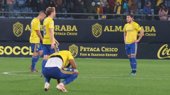 El Cádiz CF no está fino en las últimas jornadas.